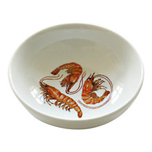 Buy Jersey Pottery Fruits de Mer Shrimp Dish Online at johnlewis.com