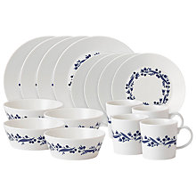 Buy Royal Doulton Fable Garland Tableware Set, 16 piece Online at johnlewis.com