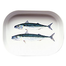 Buy Jersey Pottery Fruits de Mer Mackerel Roasting Dish Online at johnlewis.com
