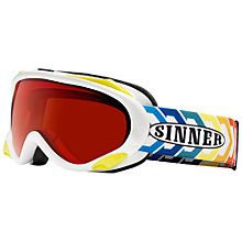 Buy Sinner Beast II OTG Double Lens Ski Goggles, Orange/Multi Online at johnlewis.com