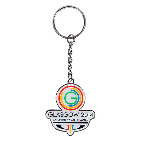 Buy Glasgow 2014 Commonwealth Games Logo Key Ring Online at johnlewis.com