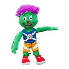 Buy Glasgow 2014 Commonwealth Games Small Clyde Mascot Toy Online at johnlewis.com