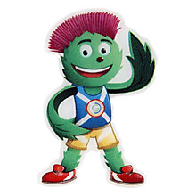 Buy Glasgow 2014 Commonwealth Games Mascot Lapel Pin Online at johnlewis.com