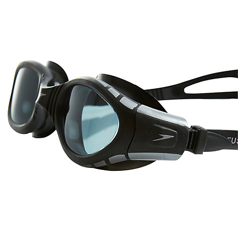 Buy Speedo Futura Biofuse Goggles, Black/Smoke Online at johnlewis.com