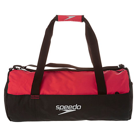 Buy Speedo Duffel Bag, Black/Red Online at johnlewis.com