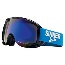 Buy Sinner Galaxy OTG Ski Goggles Online at johnlewis.com