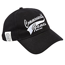 Buy Glasgow Commonwealth Games 2014 Script Cap, Black Online at johnlewis.com