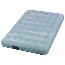 Buy Wenzel Double Airbed, Blue Online at johnlewis.com