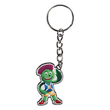 Buy Glasgow Commonwealth Games 2014 Mascot Key Ring Online at johnlewis.com
