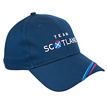 Buy Glasgow Commonwealth Games 2014 Team Scotland Cap, Navy Online at johnlewis.com