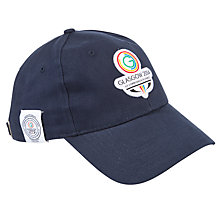 Buy Glasgow 2014 Commonwealth Games Classic Logo Cap, Black Online at johnlewis.com