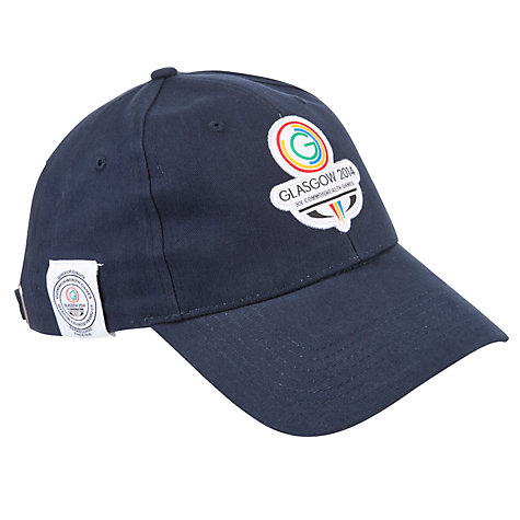 Buy Glasgow 2014 Commonwealth Games Classic Logo Cap, Navy Online at johnlewis.com