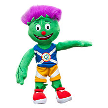 Buy Glasgow Commonwealth Games 2014 Medium Clyde Mascot Toy Online at johnlewis.com