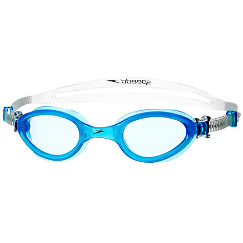 Buy Speedo Futura One Swimming Goggles, Blue Online at johnlewis.com