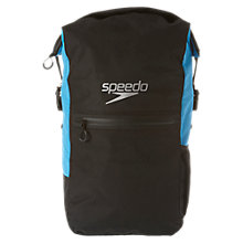 Buy Speedo Team III Max Backpack, Black/Blue Online at johnlewis.com