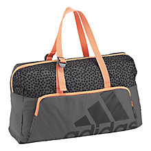 Buy Adidas Next Generation Gym Holdall, Grey/Orange Online at johnlewis.com