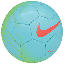 Buy Nike Mercurial Fade Football, Green Online at johnlewis.com