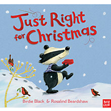Buy Just Right For Christmas Book Online at johnlewis.com
