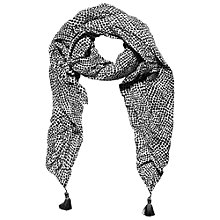 Buy Betty Barclay Spot Scarf, White/Dark Blue Online at johnlewis.com