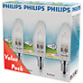 Buy Philips 28W SES Eco Halogen Candle Bulb, Pack of 3 Online at johnlewis.com