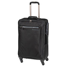 Buy Mandarina Duck Transfer 70cm 4-Wheel Medium Suitcase, Black Online at johnlewis.com