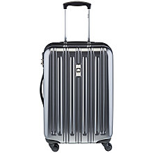 Buy Delsey Air Longitude 4-Wheel 55cm Cabin Suitcase, Black Online at johnlewis.com