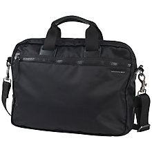 "Buy Mandarina Duck Studio 15"" Laptop Briefcase, Black Online at johnlewis.com"