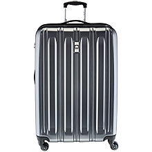 Buy Delsey Air Longitude 4-Wheel 75cm Large Case, Black Online at johnlewis.com