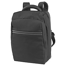 "Buy Mandarina Duck Work 15.6"" Laptop Backpack, Black Online at johnlewis.com"