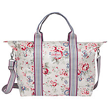 Buy Cath Kidston Foldaway Holiday Bag, Spray Cream Online at johnlewis.com