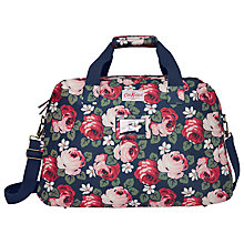 Buy Cath Kidston Aubrey Rose Travel Bag, Blue Online at johnlewis.com