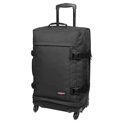 Buy Eastpak Transmitter 4-Wheel Medium Holdall, Black Online at johnlewis.com