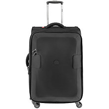 Buy Delsey Tuileries 4-Wheel Medium Suitcase, Black Online at johnlewis.com