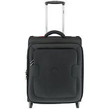 Buy Delsey Tuileries 2-Wheel 50cm Cabin Suitcase, Black Online at johnlewis.com