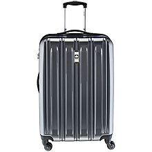 Buy Delsey Air Longitude 4-Wheel Medium Suitcase, Black Online at johnlewis.com