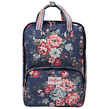Buy Cath Kidston Pembridge Rose Backpack, Navy Online at johnlewis.com