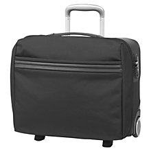 Buy Mandarina Duck Work Cabin Pilot 2-Wheel Suitcase, Black Online at johnlewis.com