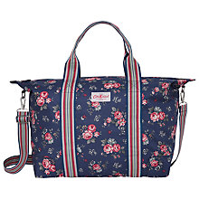 Buy Cath Kidston Foldaway Holiday Bag, Rose Blue Online at johnlewis.com