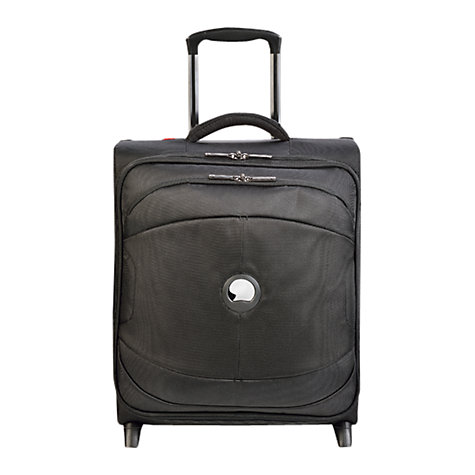 Buy Delsey U-Lite 2-Wheel 50cm Cabin Suitcase, Black Online at johnlewis.com