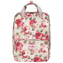 Buy Cath Kidston Aubrey Rose Backpack, Stone Online at johnlewis.com