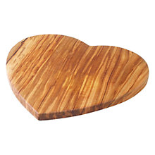 Buy John Lewis Heart Shaped Serving Board, Medium Online at johnlewis.com
