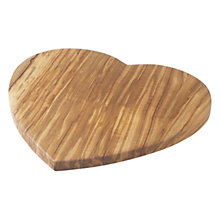 Buy John Lewis Heart Shaped Serving Board, Large Online at johnlewis.com