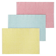 Buy John Lewis Sorbet Placemats, Set of 6 Online at johnlewis.com