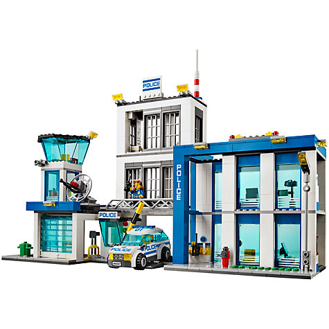 Buy LEGO City Police Station Online at johnlewis.com