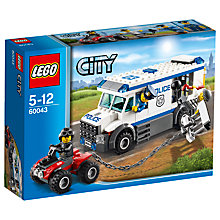 Buy LEGO City Prisoner Transporter Online at johnlewis.com