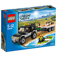Buy LEGO City SUV With Watercraft Online at johnlewis.com