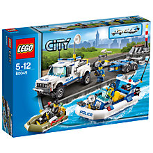 Buy LEGO City Police Patrol Online at johnlewis.com