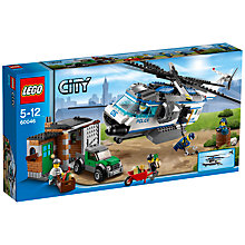 Buy LEGO City Helicopter Surveillance Online at johnlewis.com