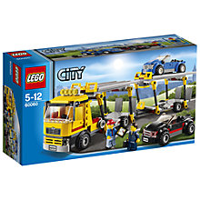 Buy LEGO City Auto Transporter Online at johnlewis.com