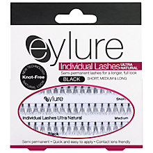 Buy Eylure Individual Lashes Ultra Natural Combination, Black Online at johnlewis.com